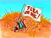Flea Or Die! Cartoon Picture