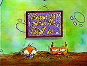 Home Is Where The Dirt Is Cartoon Picture
