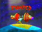Pumped Cartoon Picture