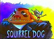 Squirrel Dog Cartoon Picture