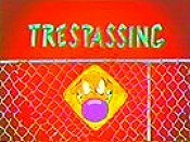 Trespassing Cartoon Picture