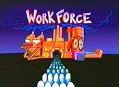 Work Force Picture Of Cartoon