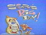 Stimpy's Big Day Cartoon Character Picture