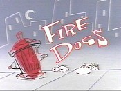 Fire Dogs Cartoon Picture