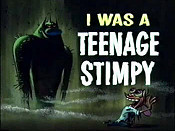 I Was A Teenage Stimpy Pictures In Cartoon