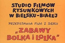 Zabawy Bolka i Lolka Theatrical Cartoon Logo