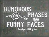 Humorous Phases Of Funny Faces Cartoon Picture