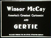 Gertie Pictures In Cartoon