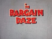 Bargain Daze Cartoon Picture