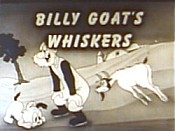 The Billy Goat Whiskers Picture Of Cartoon
