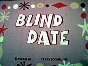 Blind Date Pictures In Cartoon