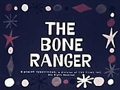 The Bone Ranger Cartoon Picture