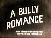 A Bully Romance Free Cartoon Picture