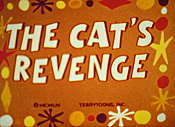 Cat's Revenge Cartoon Funny Pictures