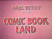 Comic Book Land Cartoon Picture