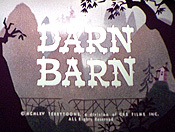 Darn Barn Cartoon Character Picture