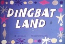 Dingbat Land Free Cartoon Picture