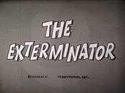 The Exterminator Free Cartoon Picture