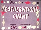Featherweight Champ Free Cartoon Picture