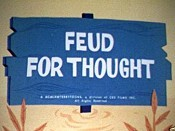 Feud For Thought Cartoon Picture
