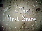 The First Snow Cartoon Funny Pictures