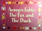 The Fox And The Duck Cartoons Picture