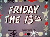 Friday The 13th Cartoon Picture