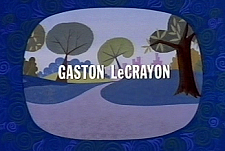 Gaston Le Crayon Theatrical Cartoon Series Logo
