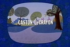 Gaston Le Crayon Theatrical Cartoon Series Logo