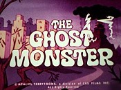 The Ghost Monster Free Cartoon Picture