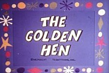 The Golden Hen Cartoon Picture