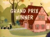 Grand Prix Winner Cartoon Picture