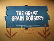 The Great Grain Robbery Cartoon Character Picture
