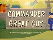 Commander Great Guy Cartoon Picture