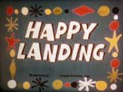 Happy Landing Cartoon Picture