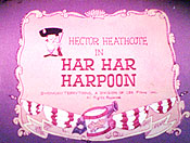 Har Har Harpoon Free Cartoon Picture