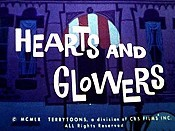 Hearts And Glowers Cartoon Picture