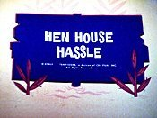 Hen House Hassle Picture Into Cartoon
