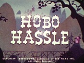 Hobo Hassle Cartoon Character Picture
