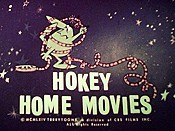 Hokey Home Movies Picture Into Cartoon