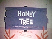 Honey Tree Picture Into Cartoon