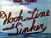 Hook, Line And Sinker Cartoon Character Picture