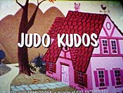 Judo Kudos Cartoon Picture