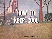How To Keep Cool Free Cartoon Picture