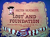 Lost And Foundation Cartoon Picture