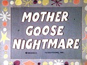 Mother Goose Nightmare Cartoon Picture