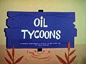 Oil Tycoons Cartoon Picture