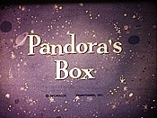 Pandora's Box Picture Of Cartoon