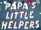 Papa's Little Helpers Picture Into Cartoon