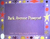 Park Avenue Pussycat Cartoon Picture